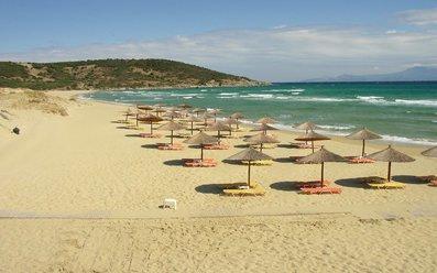 Плаж на Кавала и Неа Перамос